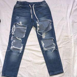 Urban behaviour Ripped boyfriend Jeans